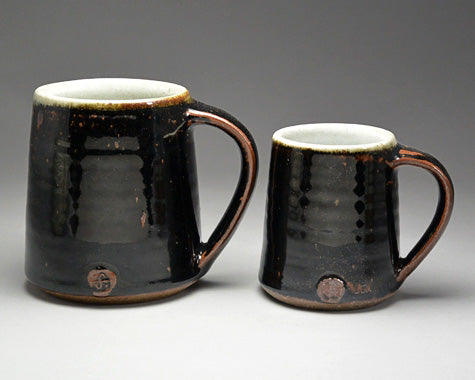 Large Mug (Tenmoku) by Leach Pottery