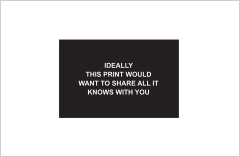 Laure Prouvost: Ideally this print would want to share all it knows with you