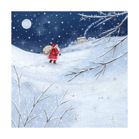 Father Christmas Greetings Card Pack