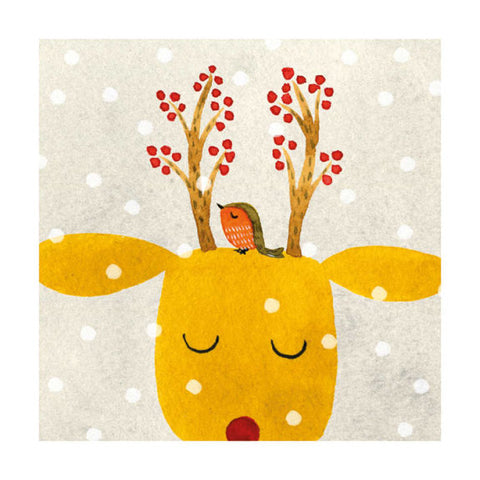 Festive Antlers Christmas Card Pack