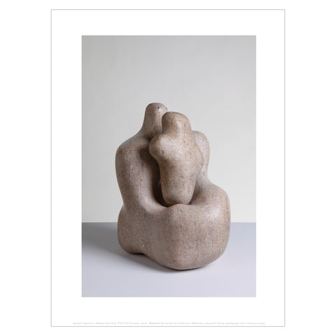 Barbara Hepworth Mini Print: Mother and Child