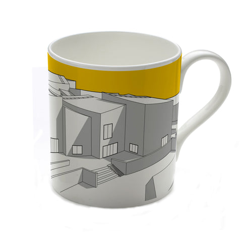 The Hepworth Wakefield Yellow Mug