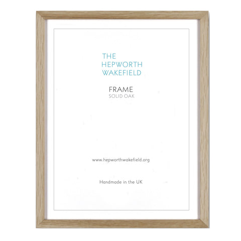 Solid Oak A2 Frame