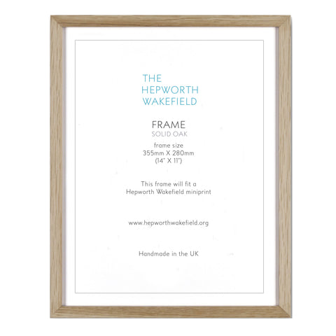 Oak Mini Print Frame
