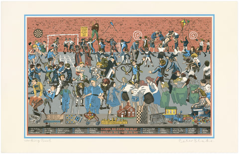 Sir Peter Blake: Games We Used To Play, Things We Used To Do