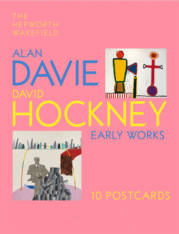 Postcard Pack: Alan Davie & David Hockney: Early Works