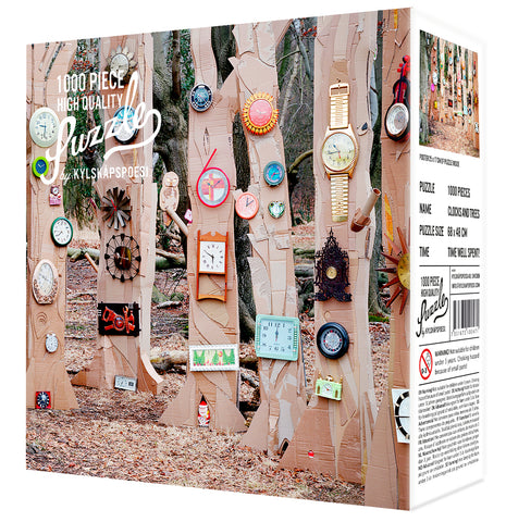 Puzzle Clocks and Trees
