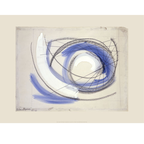 Spiral Print by Barbara Hepworth