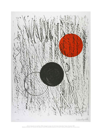 Barbara Hepworth Mini Print: Sun and Moon