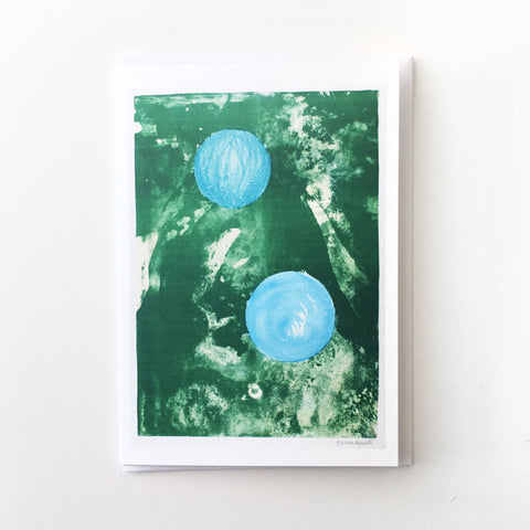 Sun and Marble by Barbara Hepworth Greetings Card