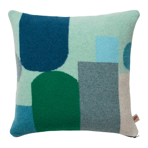Hue Cushion - Blue by Donna Wilson