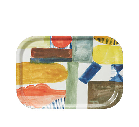 Happy Shapes Tray by Donna Wilson