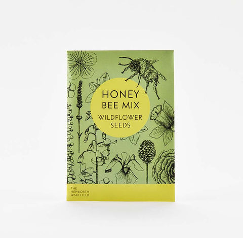 The Hepworth Wakefield Honey Bee Seed Packet Mix