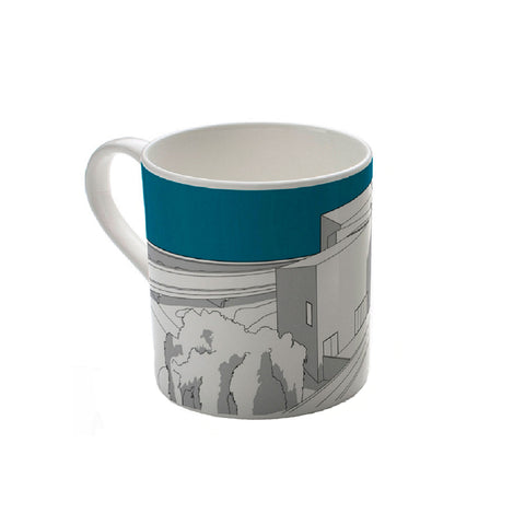 The Hepworth Wakefield Teal Mug