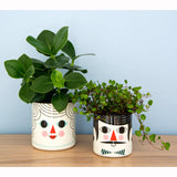 Enamel Flower Pot Set by Omm Design