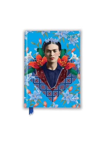 Frida Kahlo Blue 2021 Diary