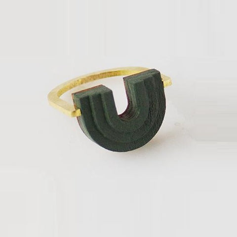 Mirage Ring Green