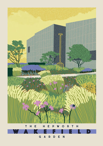 The Hepworth Wakefield Garden (A3) by Ellie Way