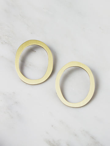 Hepworth II Studs by Wolf & Moon