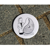 Barbara Hepworth Magnet by Alex Sickling