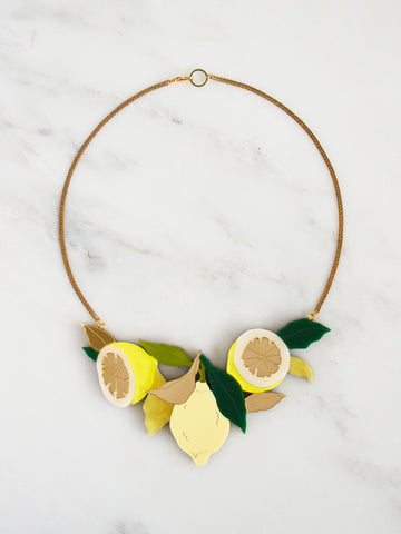 Lemon Grove Necklace by Wolf and Moon