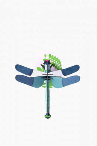 Blue Dragonfly Wall Decoration