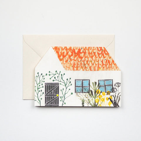 Little House Greetings Card