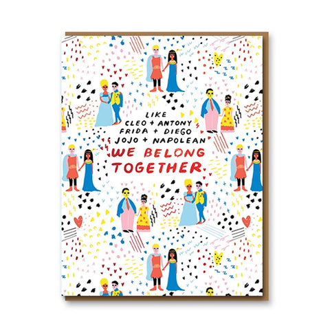 Lovers Through History Greetings Card