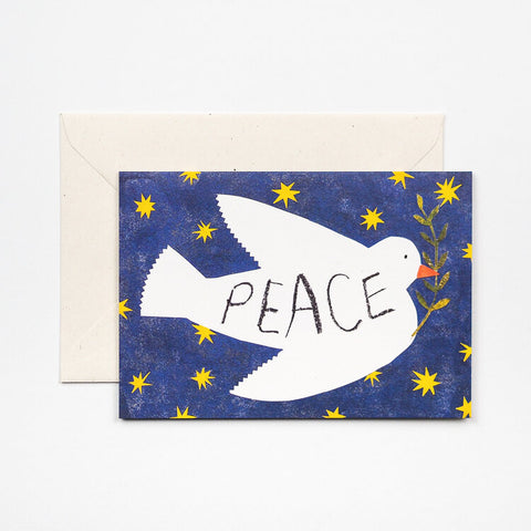 Peace Dove Greetings Card