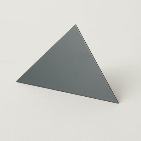 Geometric Photo Clip - Grey Triangle