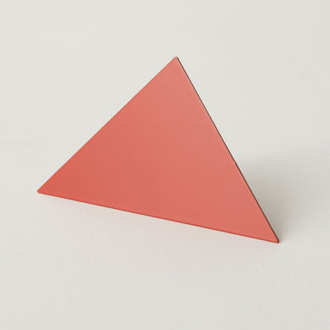 Geometric Photo Clip - Red Triangle