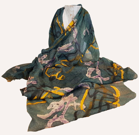Henry Moore Seated Figures Scarf