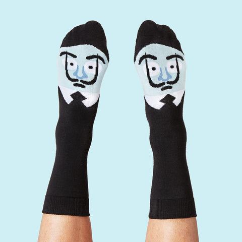 Medium Sole Adore Dali Socks by ChattyFeet