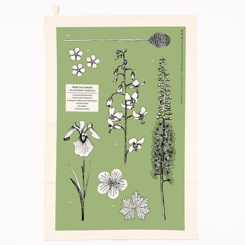 From the Garden Teatowel by The Hepworth Wakefield X Studio Wald