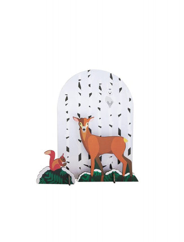 Deer Pop Out Card