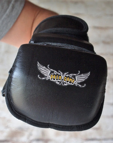 Grappling Gloves MMA - Black - Pain Game