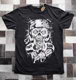 Angry Zombie MMA T-shirt - Black - Pain Game