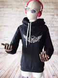 Bit of Bling Hoodie Women - Black - Pain Game