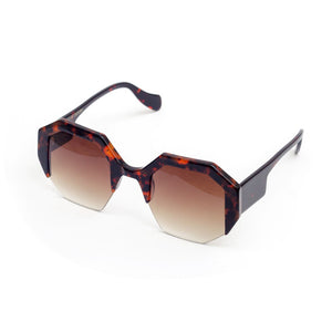 Hexagon II - Frameless Orange