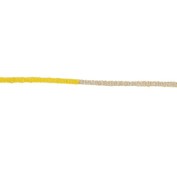 Yellow & Silver Choker