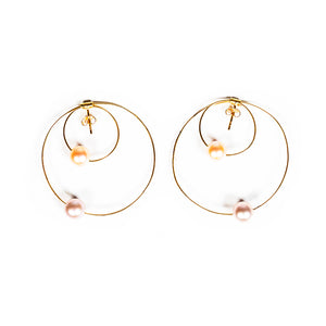 Circle Earrings - UniqueFindz.com