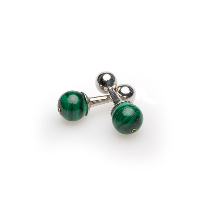 The Malachite Cufflink