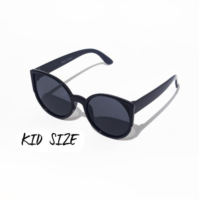 Cat Eye II (Black: Kids Size) - UniqueFindz.com