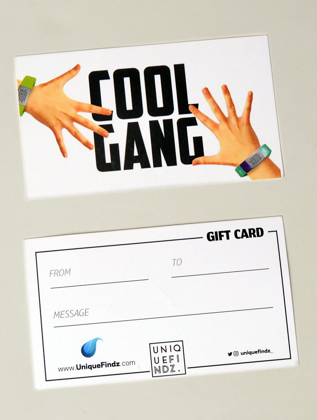 Cool Gang Gift Card - UniqueFindz.com