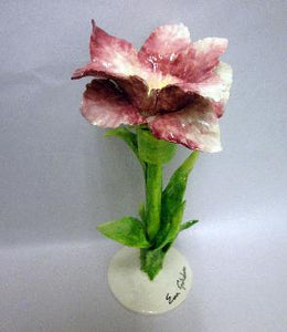 Floral Goblet Stargazer Lily - Hot Pink - Dimensions: 8.7 x 8.7 x 9.7 CM