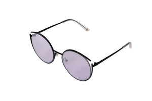 Roundish Sunglasses - Black - UniqueFindz.com