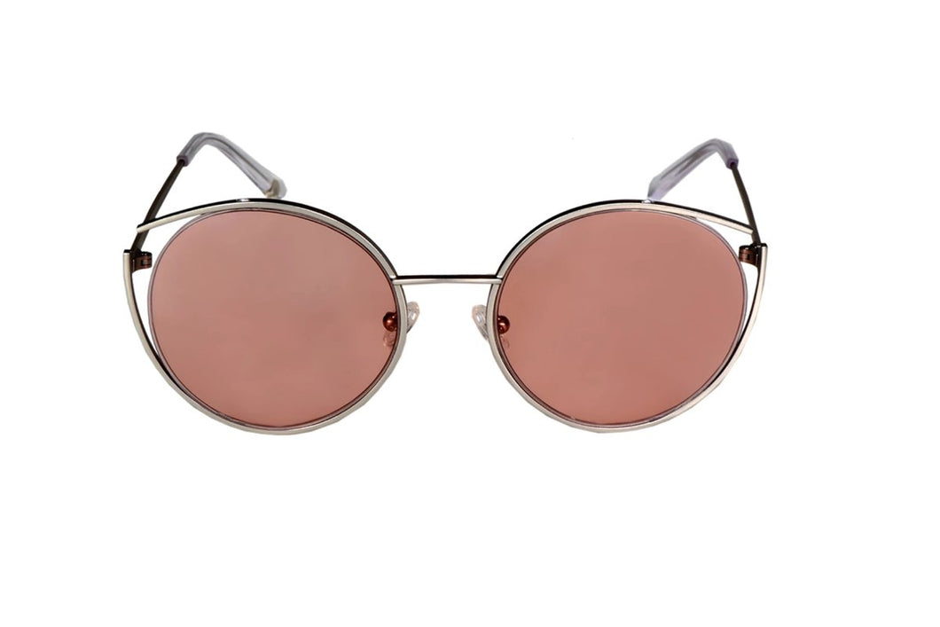 Roundish Sunglasses - Silver - UniqueFindz.com
