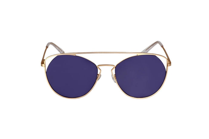 Flare Sunglasses - Gold - UniqueFindz.com