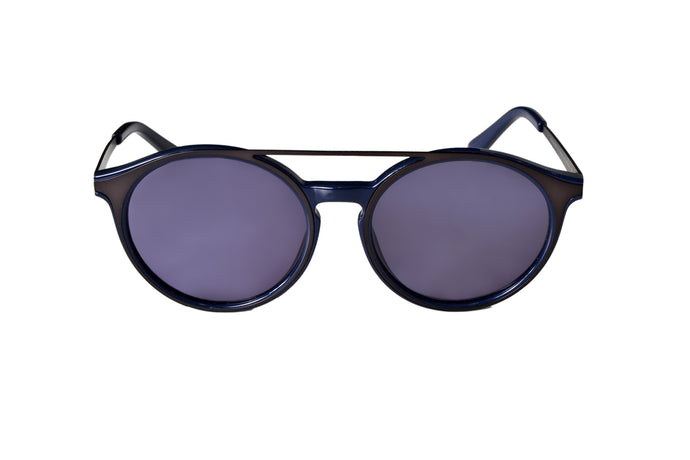 Keyhole Sunglasses - Navy - UniqueFindz.com