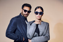 Avant Garde Blue sunglasses - UniqueFindz.com